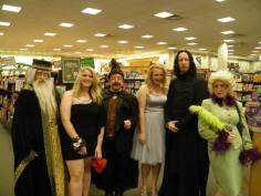 Before homecoming my junior year, when I met Snape at my local Barnes & Nobel